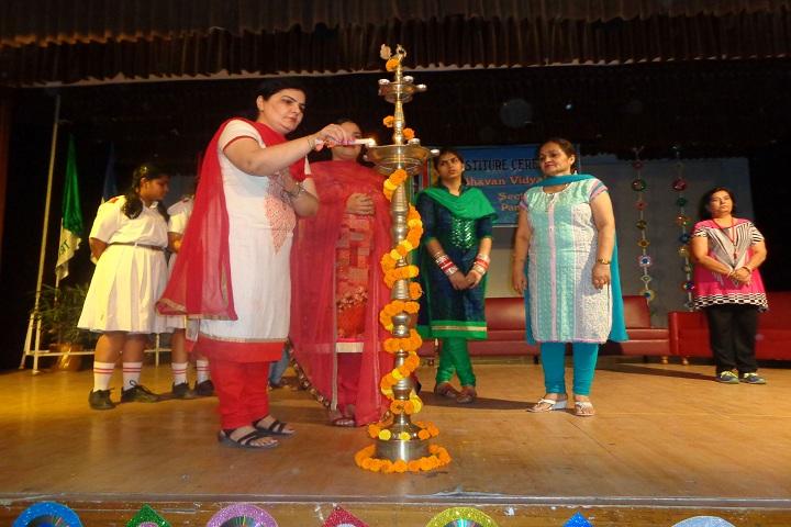 Bhavan Vidyala-investitude ceremony