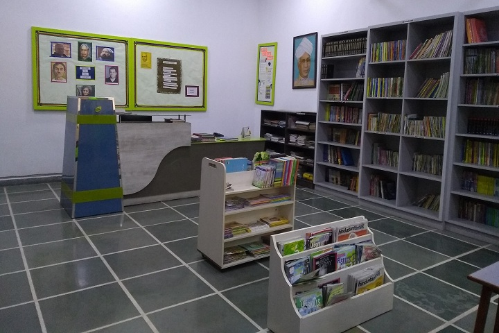 Blue Angels Global School-Library