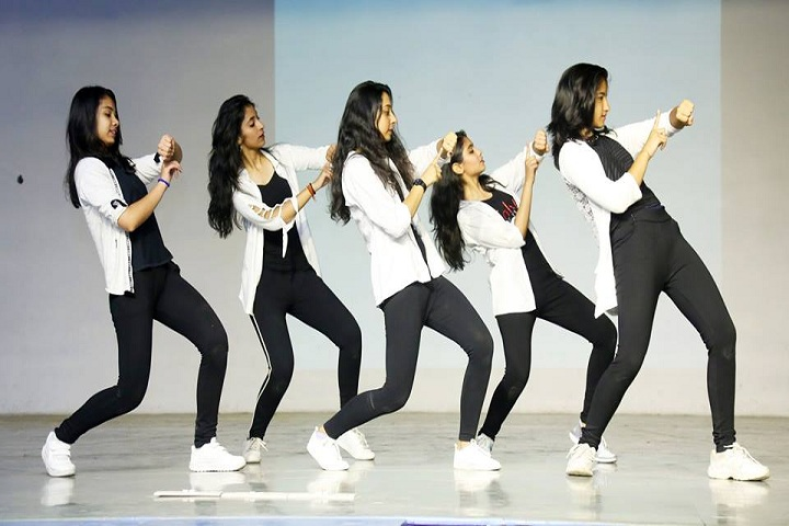 Blue Bells Model School-Dance