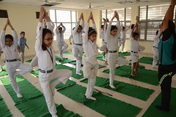 Blue Bells Model School-Yoga