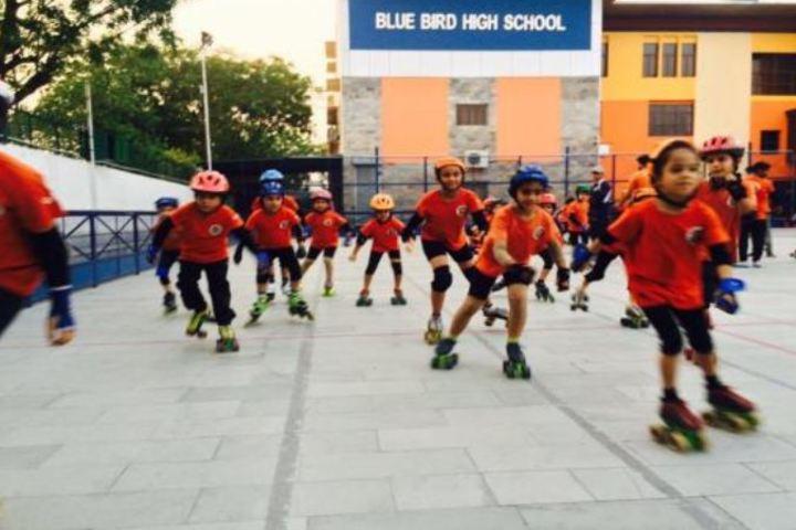 Blue Bird High School-Skating
