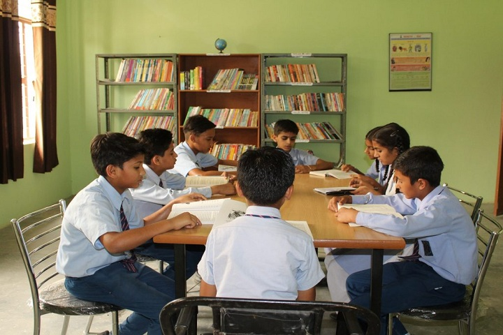 Blue Heaven Public School- library