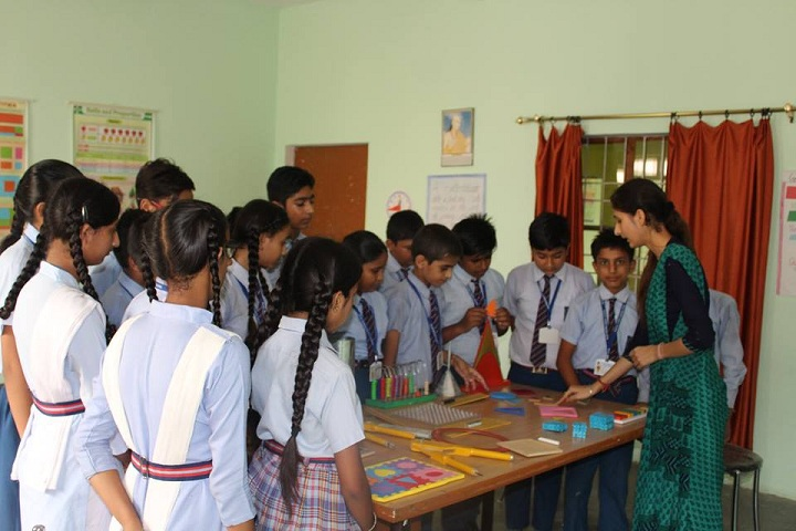 Blue Heaven Public School- maths lab