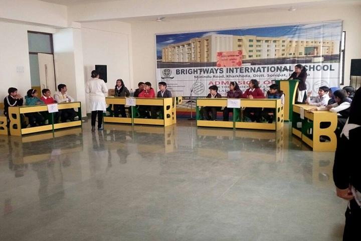 Brightways International School-quiz competition
