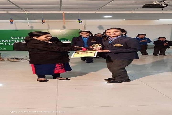 Brilliance World School- prize distribution