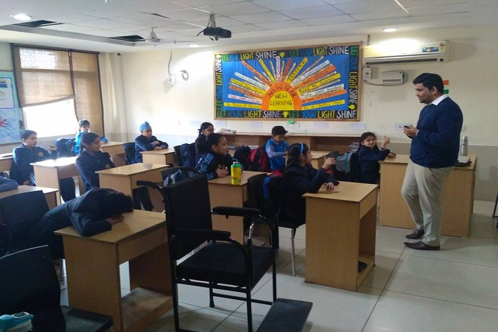 Brilliance World School- smart classroom