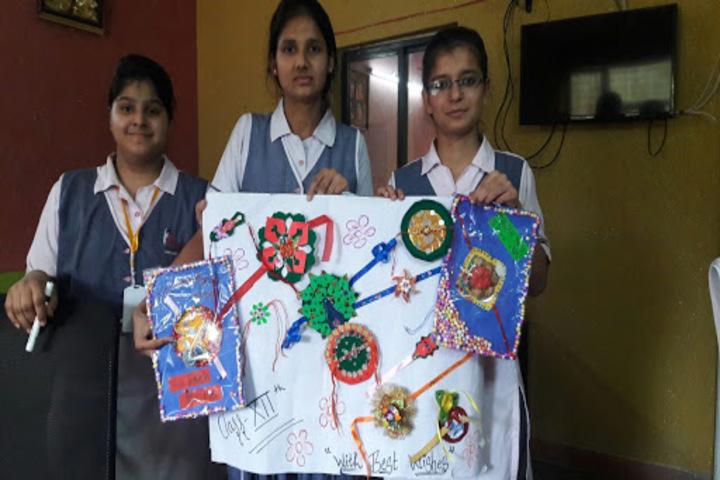 C.D. International School-Art and Craft