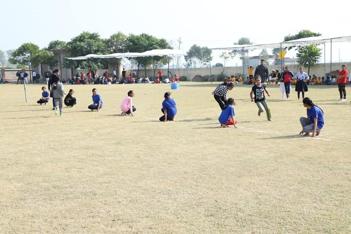 C S International School-Sports Day