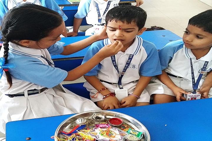 CSM Public School-Rakhi Celebration
