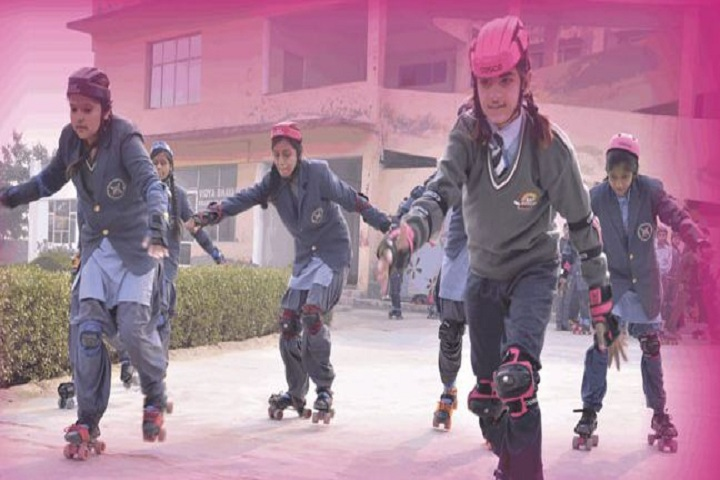 Cambridge International Senior Secondary School-Skating