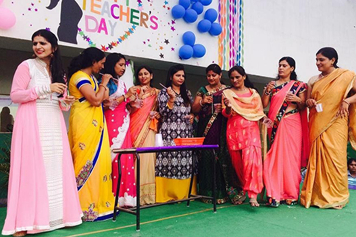 Canal Valley Public School-Teachers Day Celebration