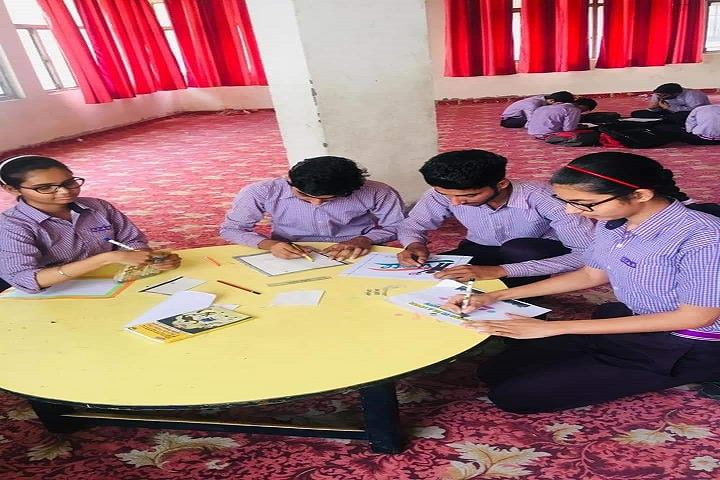 C C A S Jain Senior Secondary School-Drawing Class