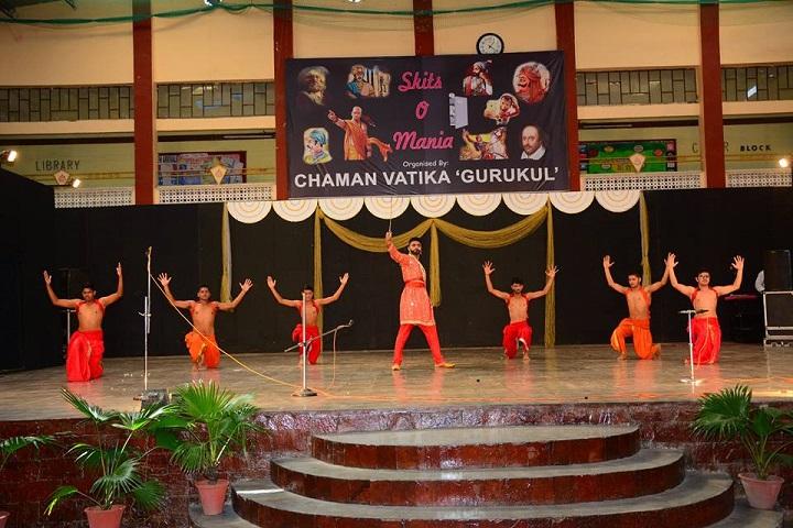 Chaman Vatika Residential Public School-Dance