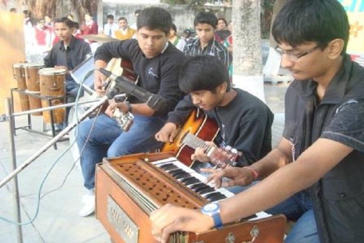 Chamanlal D A V Senior Public School-Music-Room
