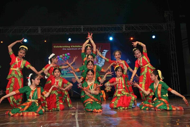 Chamanlal DAV Senior Public School-Dance1