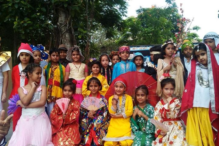 Chamanlal DAV Senior Public School-Fancy-Dress-Competition