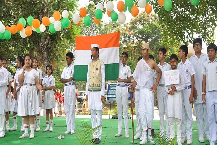 Chamanlal DAV Senior Public School-Independence-Day