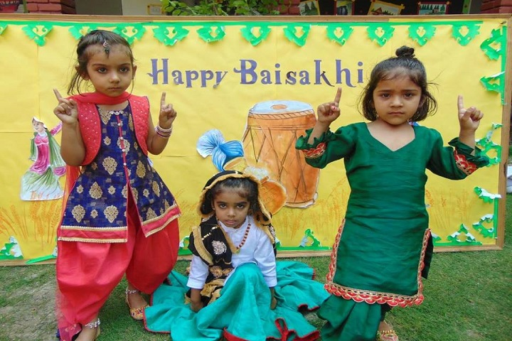 Chandan Bal Vikas Public School-Baishaki Celebration
