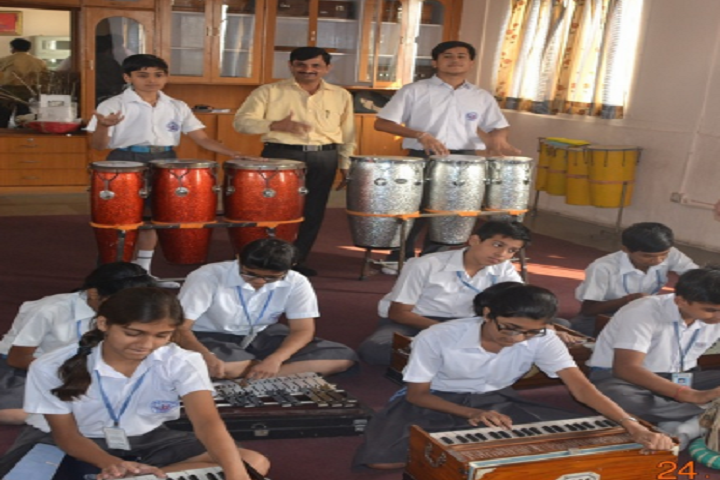 Colonels Central Academy-Music-Class