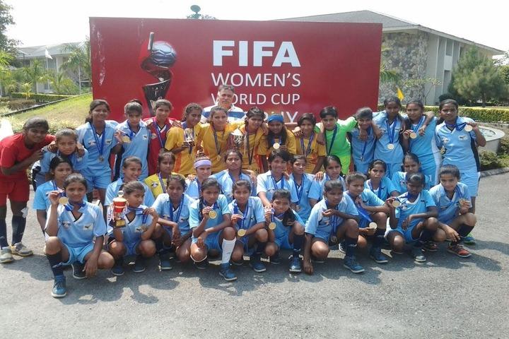 Colonels Public School-FIFA Womens World Cup
