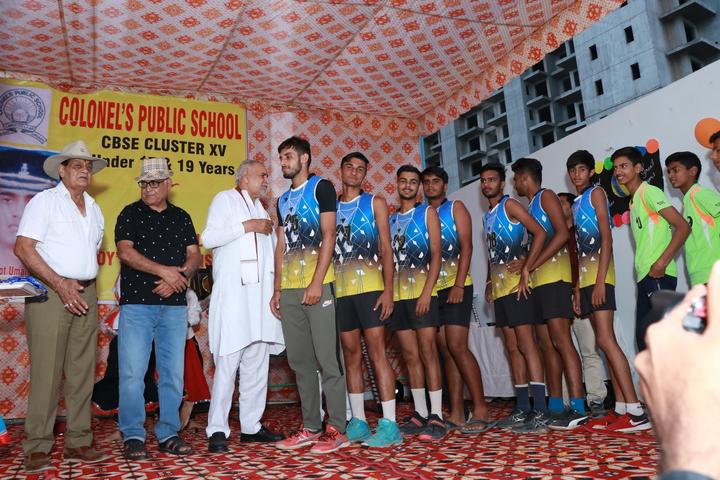 Colonels Public School-Prize Distribution