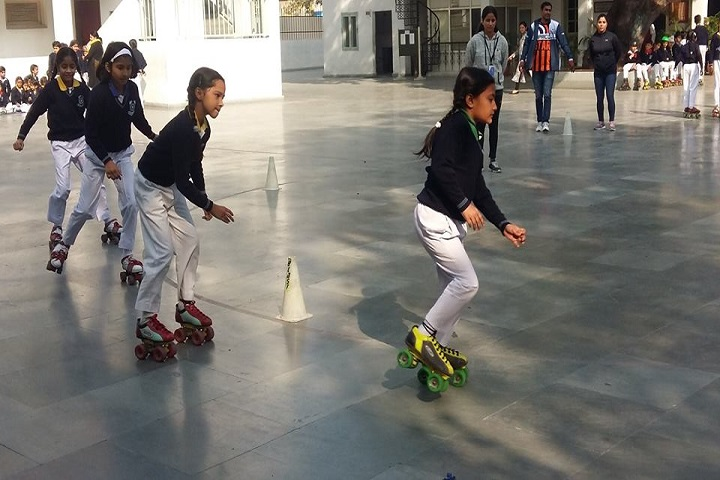 Convent Of Sacred Heart-Skating
