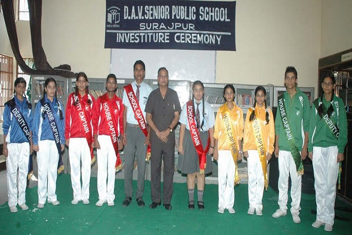 D A V  Public School-Investiture-Ceremony