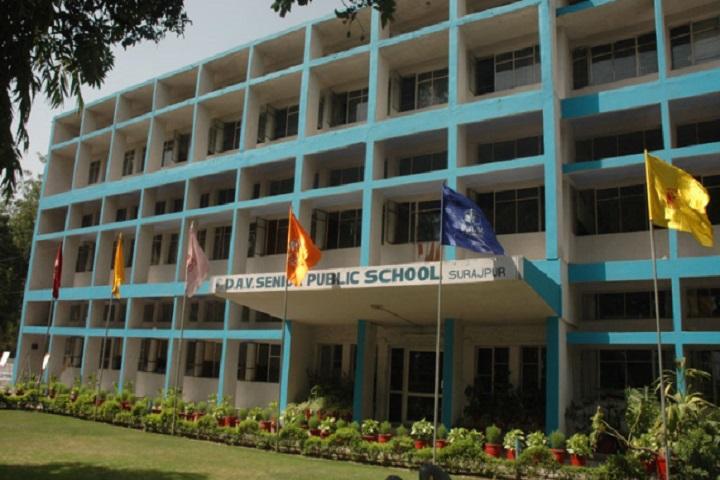 D A V Public School-School-Campus