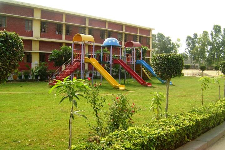 D A V Centenary Public School-School-Lawn