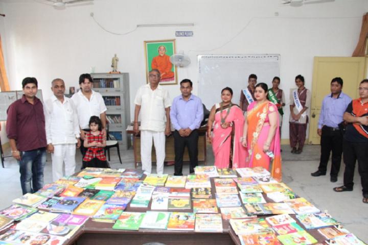 D A V Centenary Public School-Library-Day