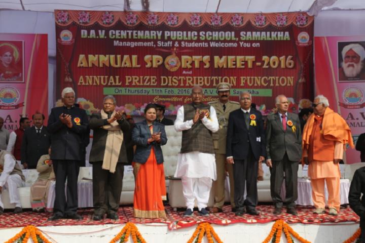 D A V Centenary Public School-Sports-Meet