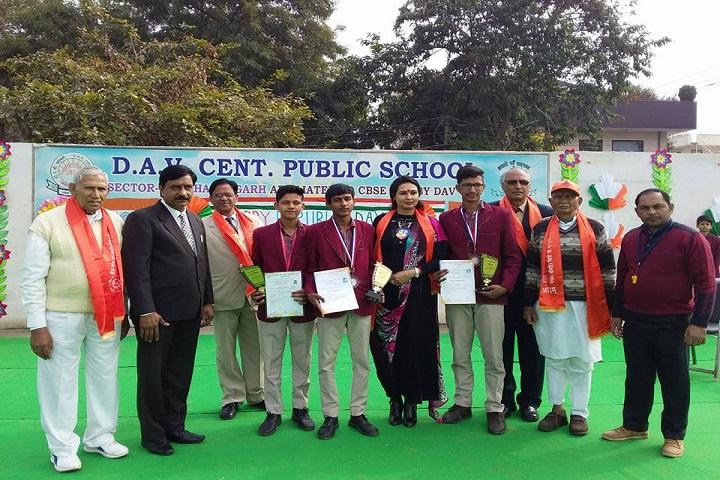 D A V Centenary Public School-Awards