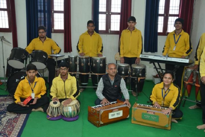 D A V Centenary Public School-Music-Program
