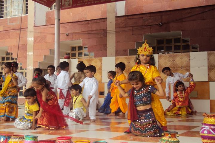 D A V Centenary Public School-Janmashtami
