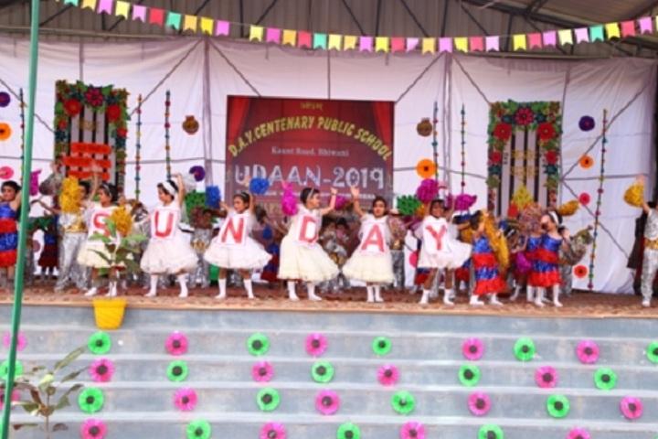 D A V Centenary Public School-Childrens dance programme