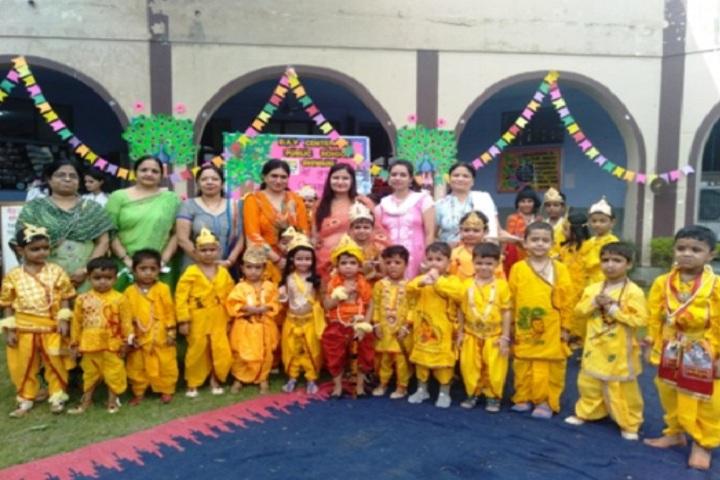 D A V Centenary Public School-Krishnastami