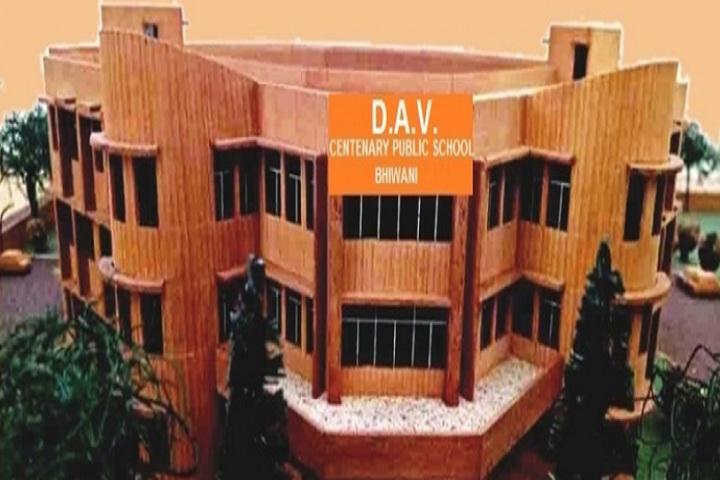D A V Centenary Public School-School building