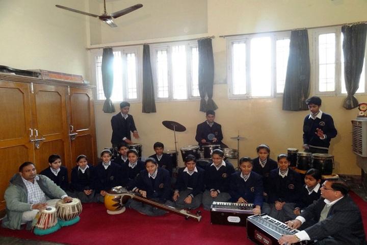 D A V English Medium Model Senior Secondary School-Music Room