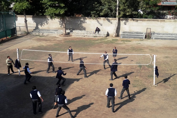 D A V English Medium Model Senior Secondary School-Sports