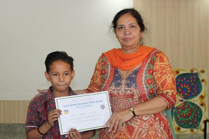 D A V English Medium Model Senior Secondary School-Achievement