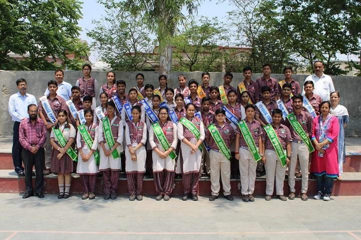 D A V English Medium Model Senior Secondary School-Investiture Ceremony