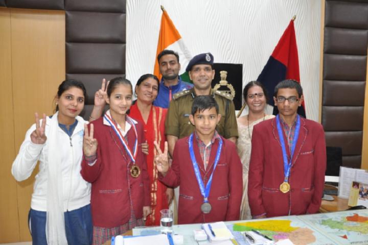 D A V Police Public School-Achievement