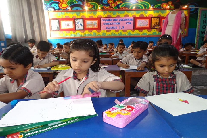 D A V Public School-Drawing Compitition