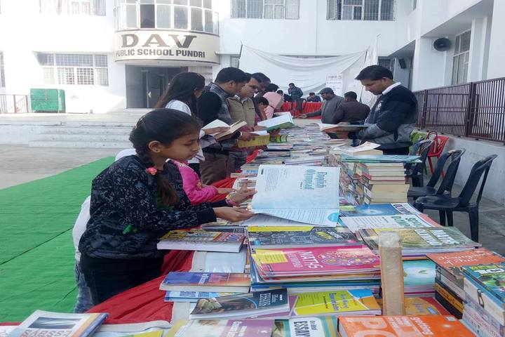 DAV Public School-Book Exhibition