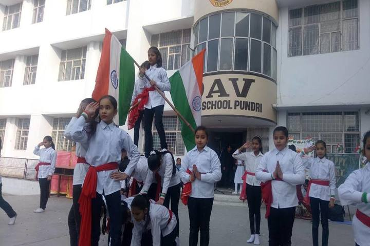 DAV Public School-Independence Day Celebration