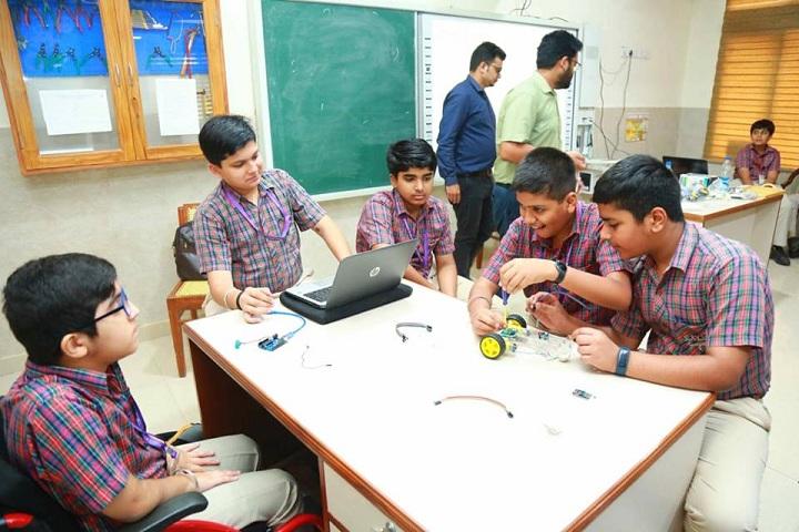 D A V Public School-Activities