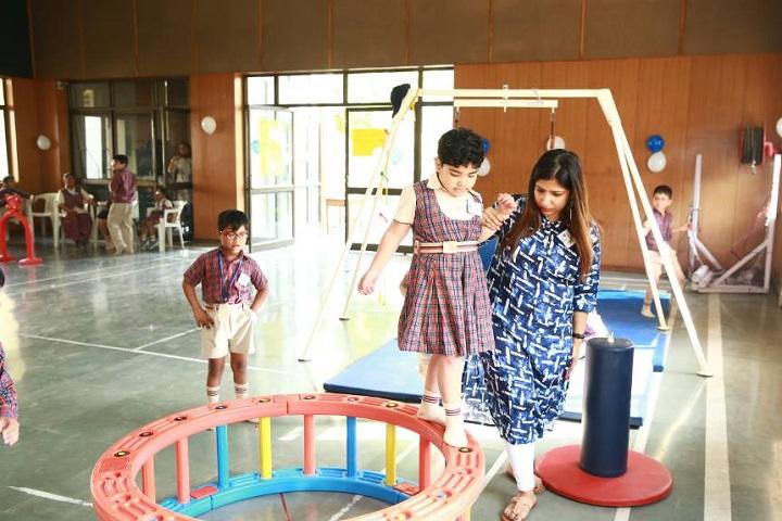 D A V Public School-Play Room