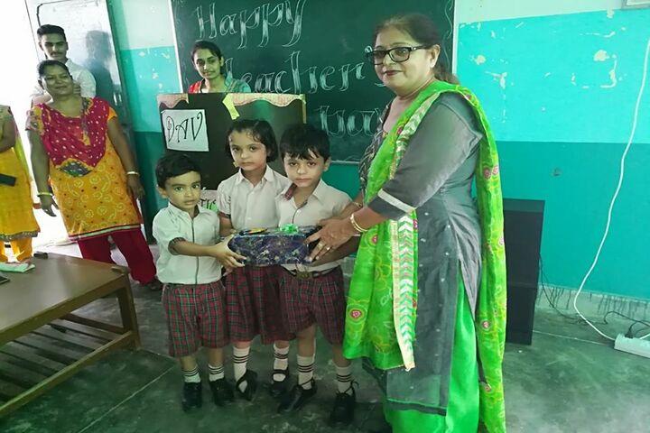 D A V Public School-Childrens Day