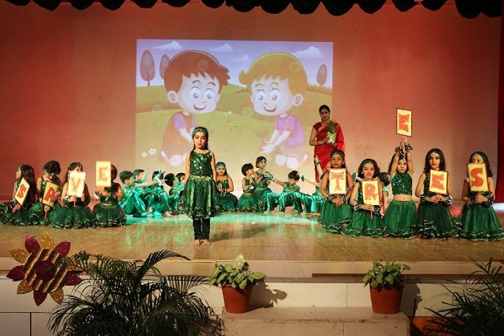D C Model Senior Secondary School-Childrens Annual day