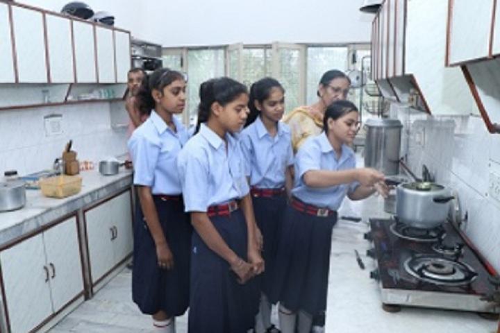D C Model Senior Secondary School-Home Science Lab